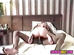 Cuckolds MILF with her first BBC bull Vintage cuckolds