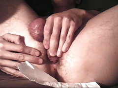 Selffuck and self-creampie