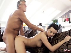 Slapped and fucked hard by Teen
