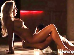 Epic holiday internal cumshot intercourse gauze by SinfulXXX