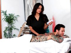 Autumn Loves Massaging That Cock With Her Pussy