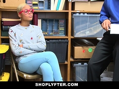ShopLyfter - Ebony Teen Caught Stealing