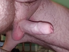 Close-up cumshot