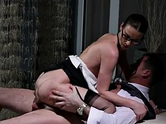 Clothed Big Tits Secretary Fucked Hard By Big Dick Boss - WHO IS SHE