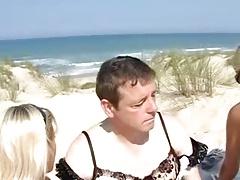 Nude Beach - Dressed in Lingerie