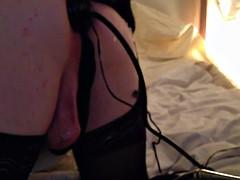 sexy cd sissy slut misty toys w buttplug