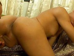 Dirtyminded sheboys make out with every other