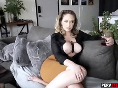 Busty blonde milf keeps her lover satisfied