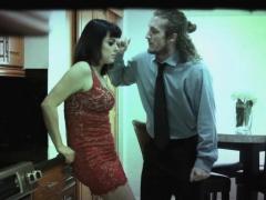 Boyfriend bangs girlfriend Nova in submission