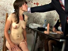 Interview nude kinky for the secretary young