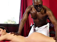 milf bitch doggystyled by masseur