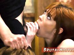 Stupid slutty touristis Punished