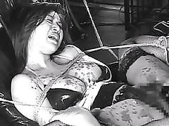 Busty Japanese bitch Erika Moka tied up and fucked BDSM