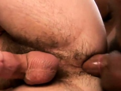 Buddies with cock deeply inserted in his butthole