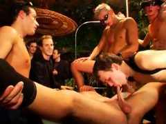 Nude male house party movie gay is cumming to a rock hard