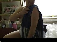 OmaPass Sexy grannies  masturbating her hairy puss