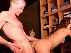 Flexible angel with round bottom Anita Berlusconi penetrated in the cowgirl pose