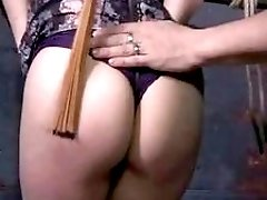 Big booty slave bitch gets it hard from master BDSM
