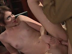 ashlyn rae gets her pink pussy fucked hard