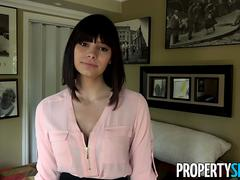 PropertySex Violet Starr And Her Big Natural Tits Nailed