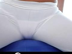 Alexis Adams fucks after some workout