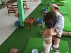 Golf Student Having Sex With Her Coach