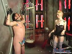 Mistress Mayhem loves to have a submissive male do her bidding and