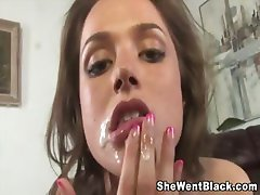 Tori Black POV fucked by a huge black cock